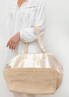 Glisten Bag / Weekender in Gold