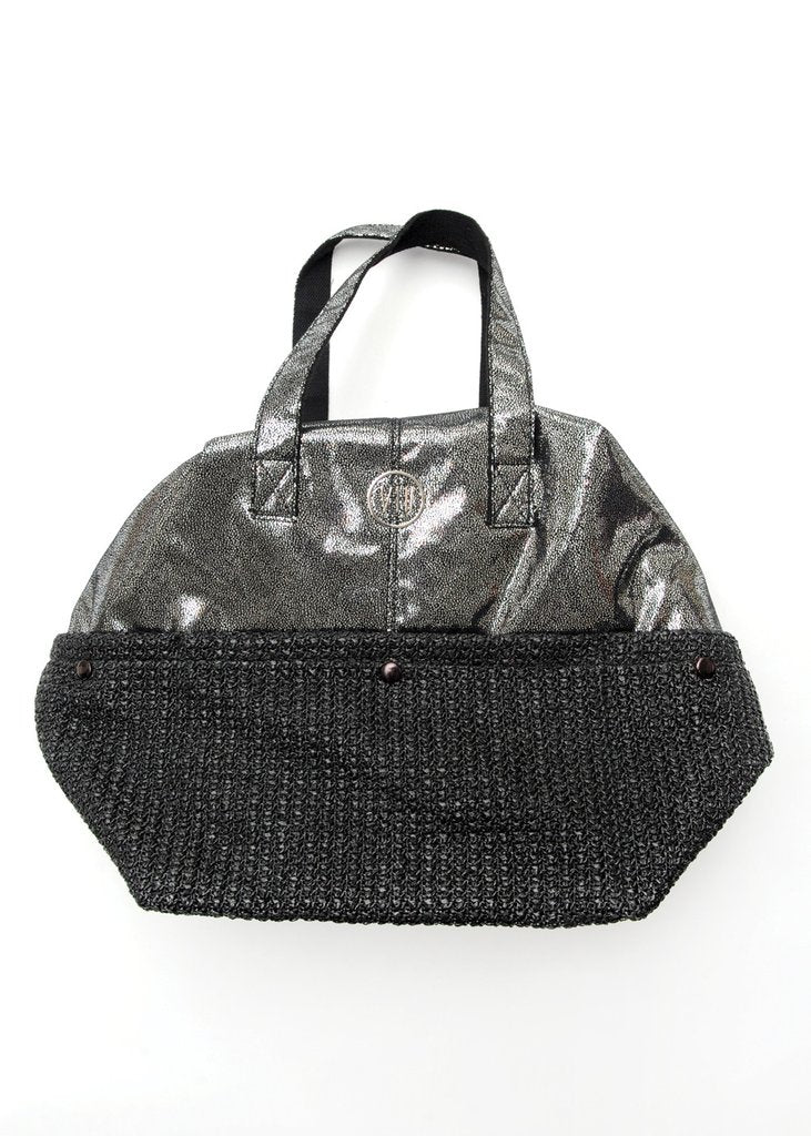 Glisten Bag / Weekender in Silver
