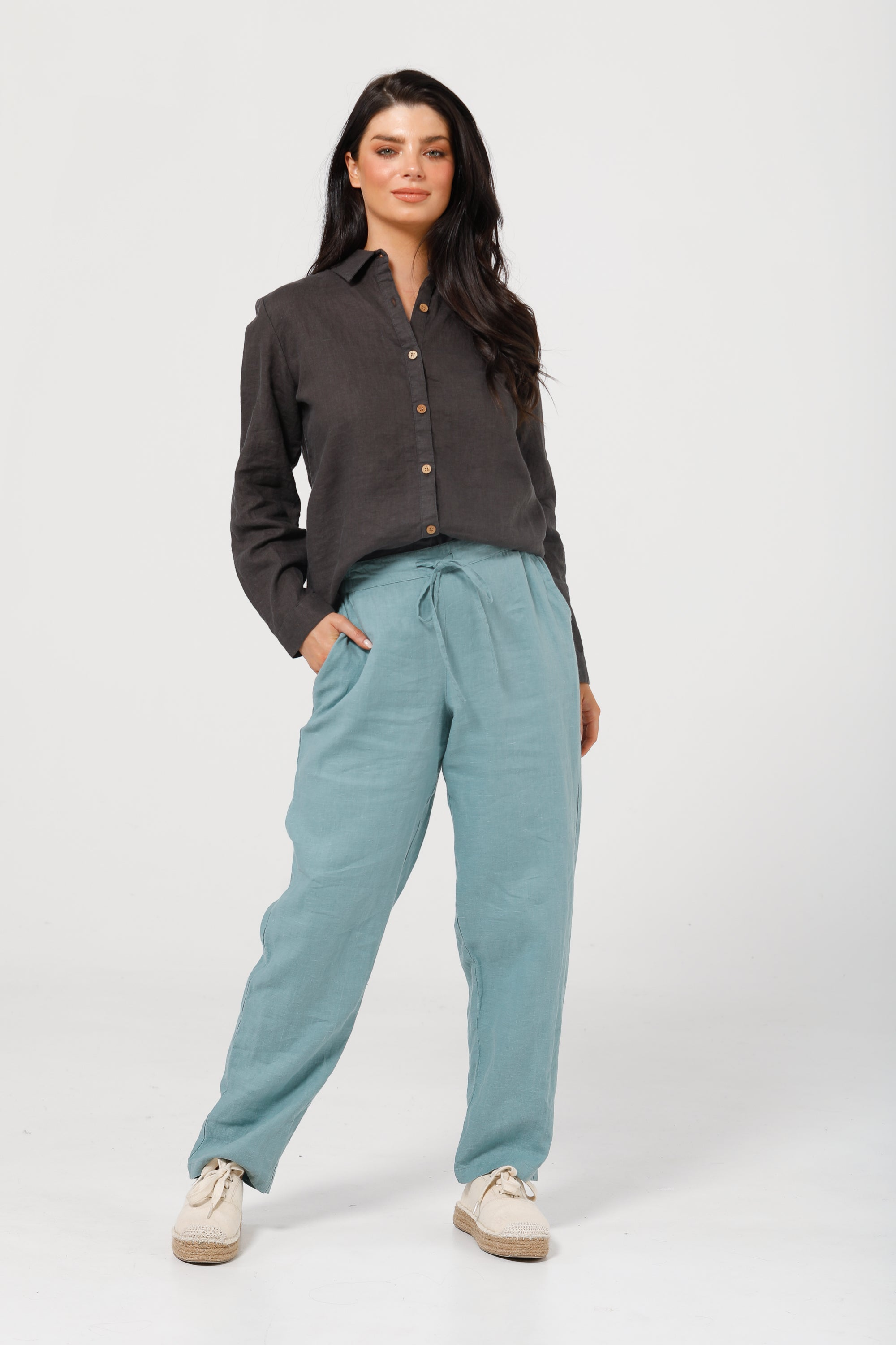 Nautica Pants in Arctic Blue