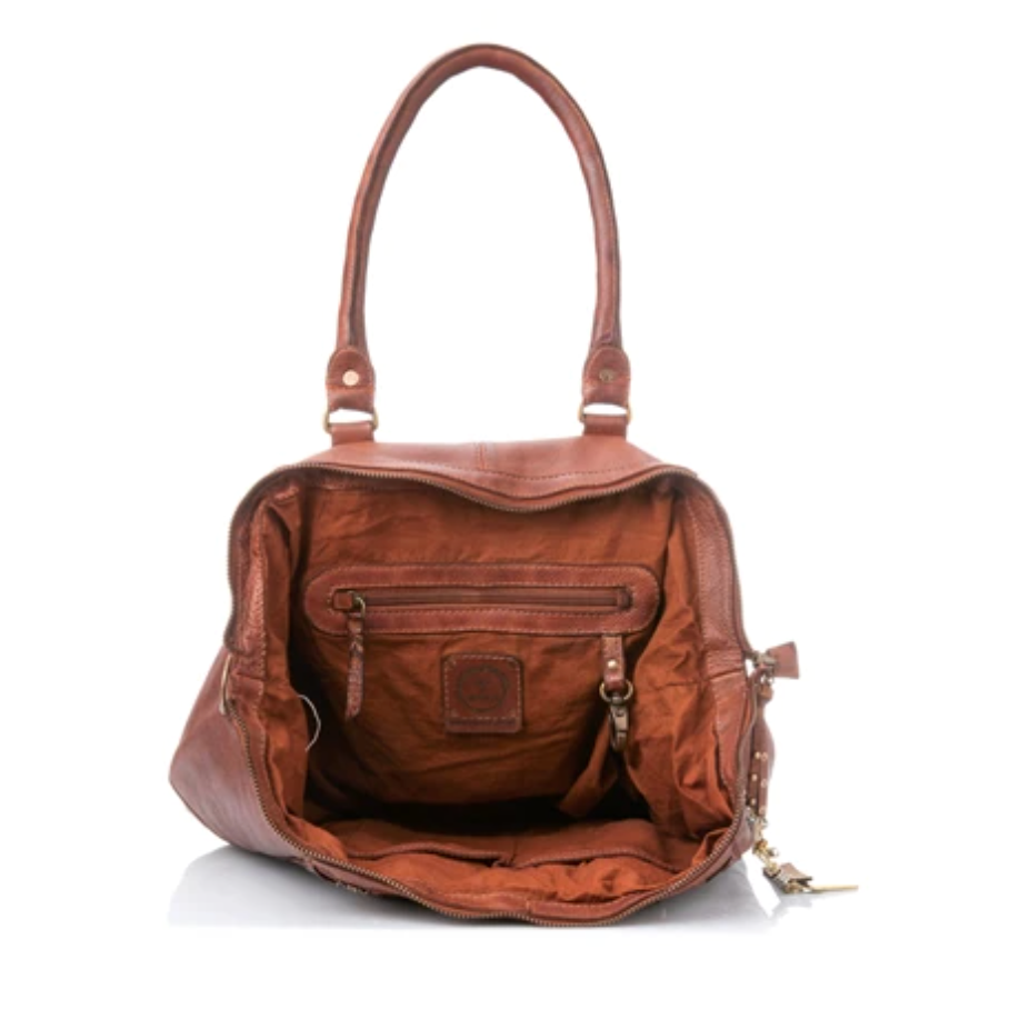 Arrow Tote in Cognac