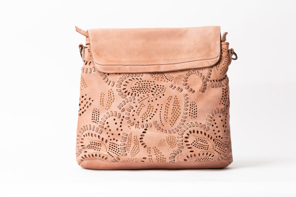Meadow Tote / Backpack Blush