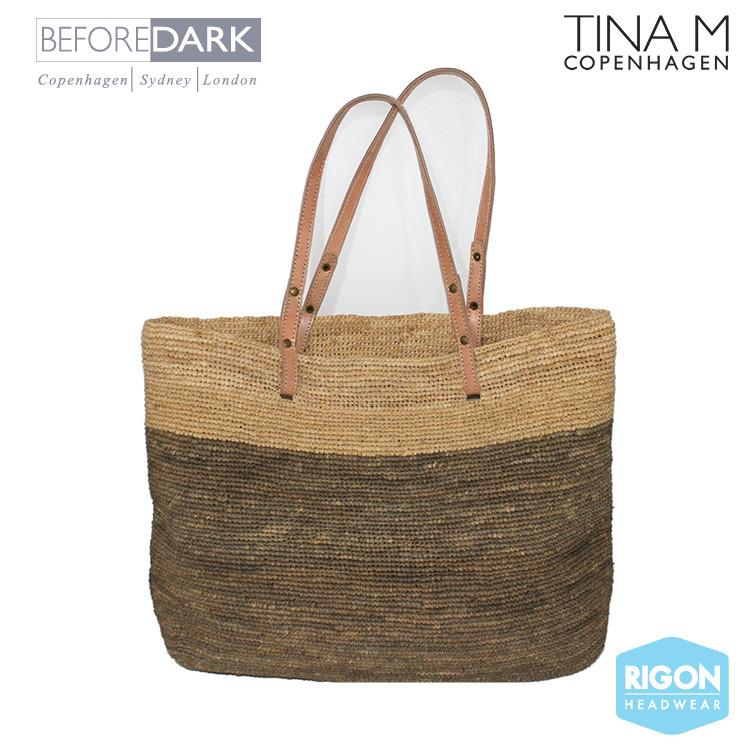 Madagascan Raffia Beach Bag