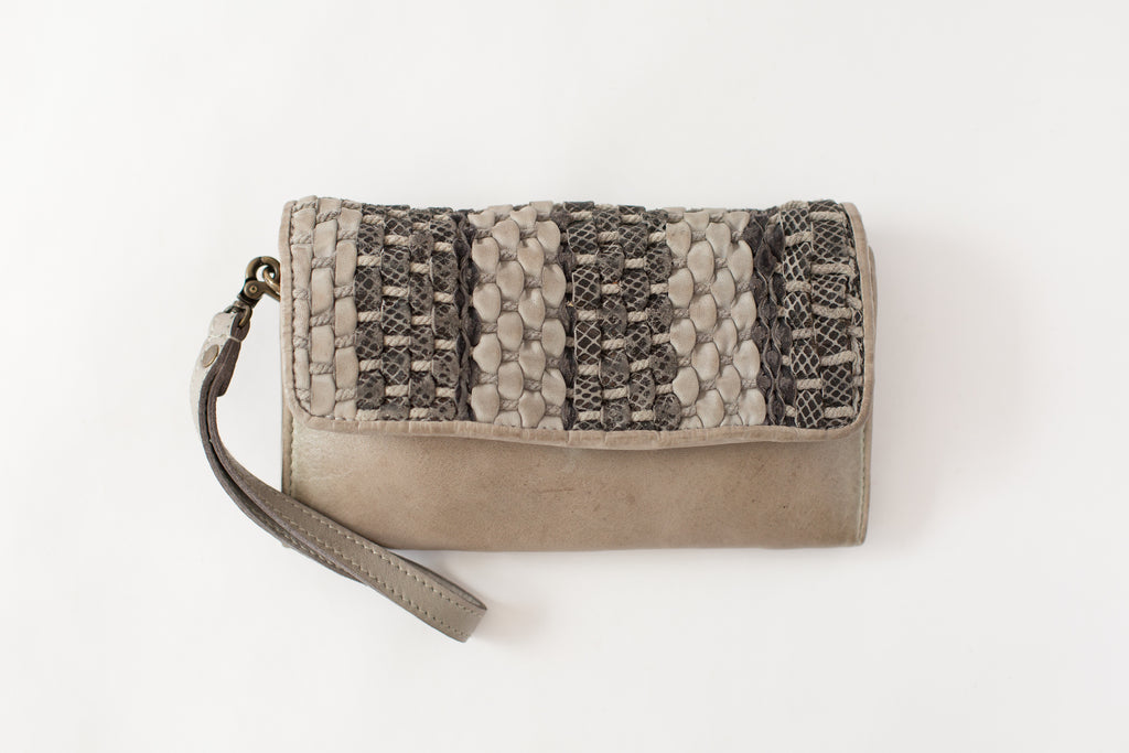Tosca Clutch in Grey