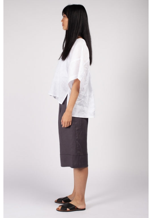 Fuzuki Top in White