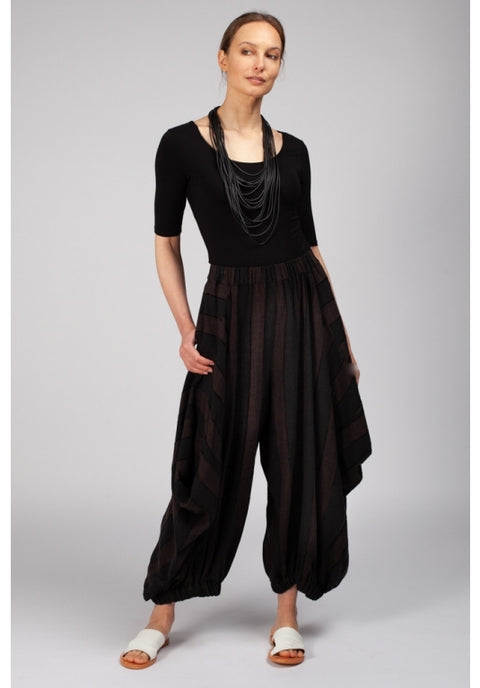 Haori Pants - Chocolate