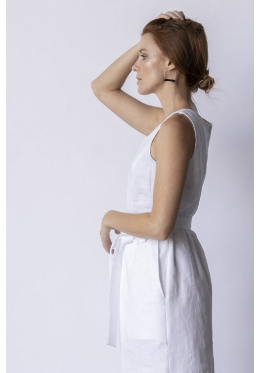 Wind Jumpsuit in White