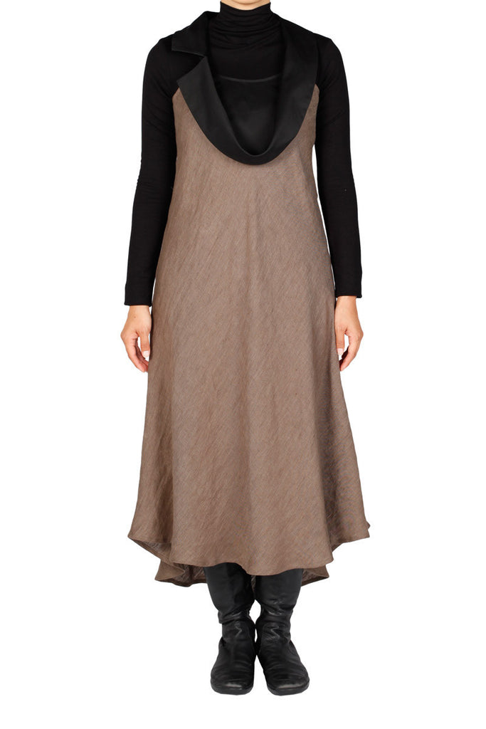 Lupa Dress - Brown