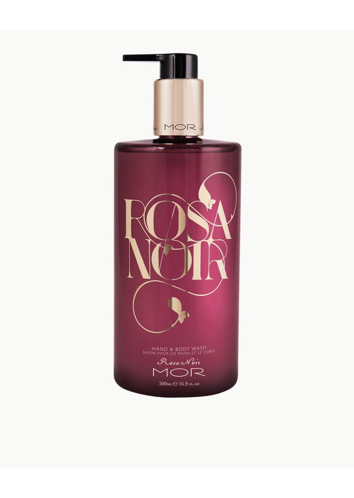 Rosa Noir Hand and Body Wash