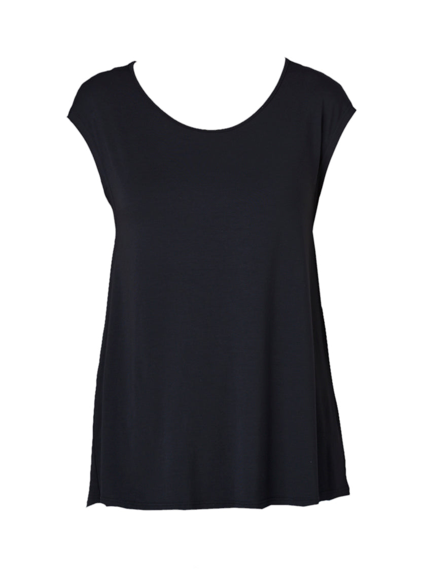 Flaired Swing Tank in Black