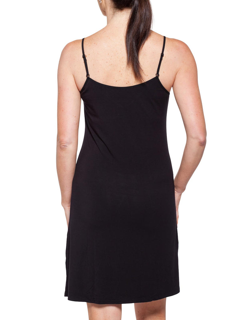 Black Short Slip