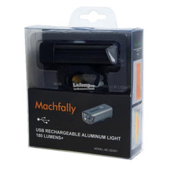 MACFALLY USB RECHARGEABLE FRONT LIGHT