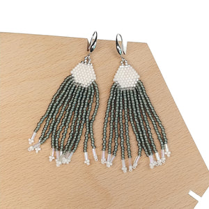 Waterfall Beaded Tassel