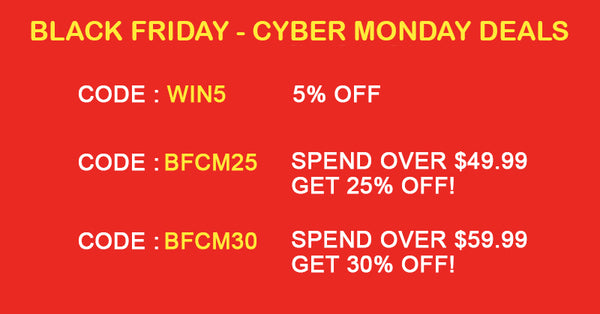 Black Friday - Cyber Monday Deals
