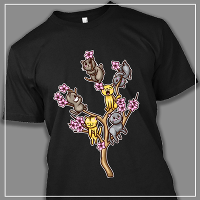 Cats on Branches