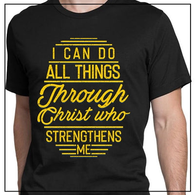 I CAN DO ALL THINGS THROUGH CHRIST