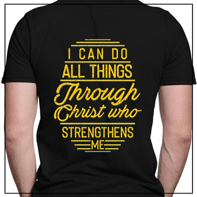 I CAN DO ALL THINGS THROUGH CHRIST - BACK SIDE
