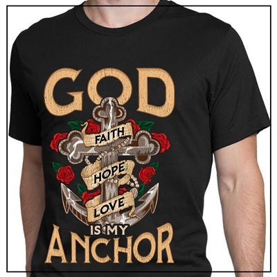 GOD IS MY ANCHOR