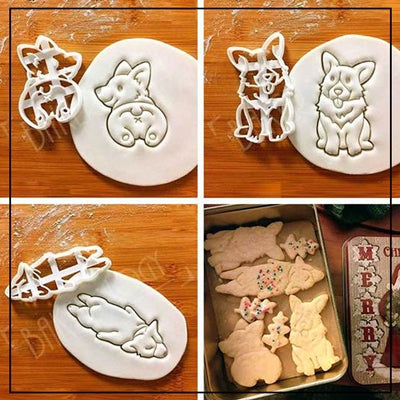 Corgi Cookie Cutter Set