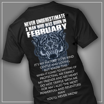 Never underestimate February man