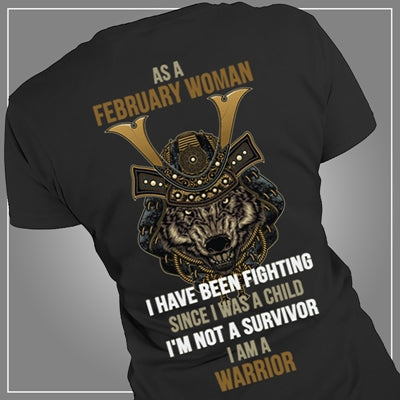 Warrior February woman