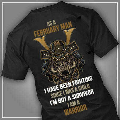 Warrior February man