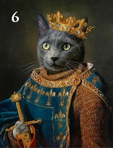 Renaissance historical M-06 male pet portrait