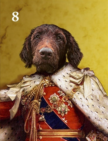 Renaissance historical M-08 male pet portrait