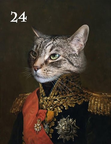 Renaissance historical M-24 male pet portrait