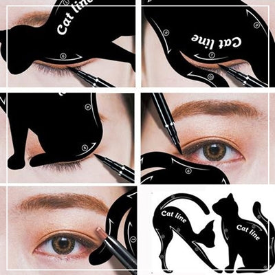 Cat eyeliner shape