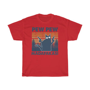 Pew pew - Unisex Heavy Cotton Tee - Fulfilled in Czech Republic