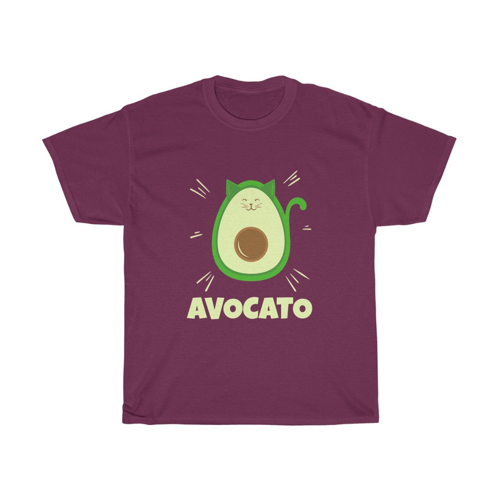 Avocato - Unisex Heavy Cotton Tee - Fulfilled in the United States