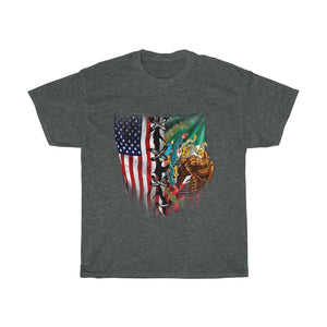 4th July flag – Unisex Heavy Cotton Tee - US