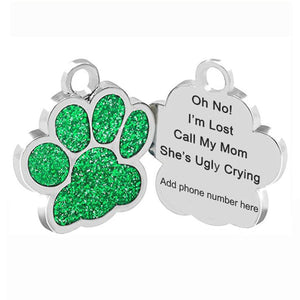 Personalized Pet Tag engraved - I'm Lost - Call my mom