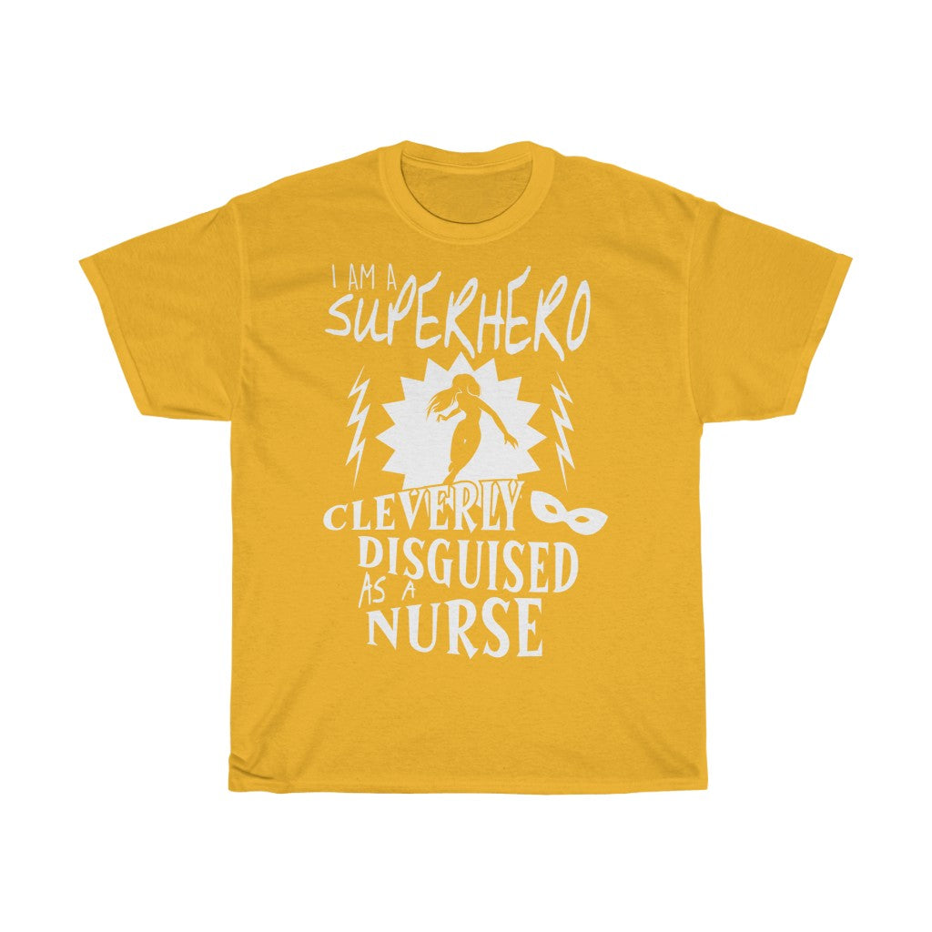 Superhero nurse - Unisex Heavy Cotton Tee - Fulfilled in Germany