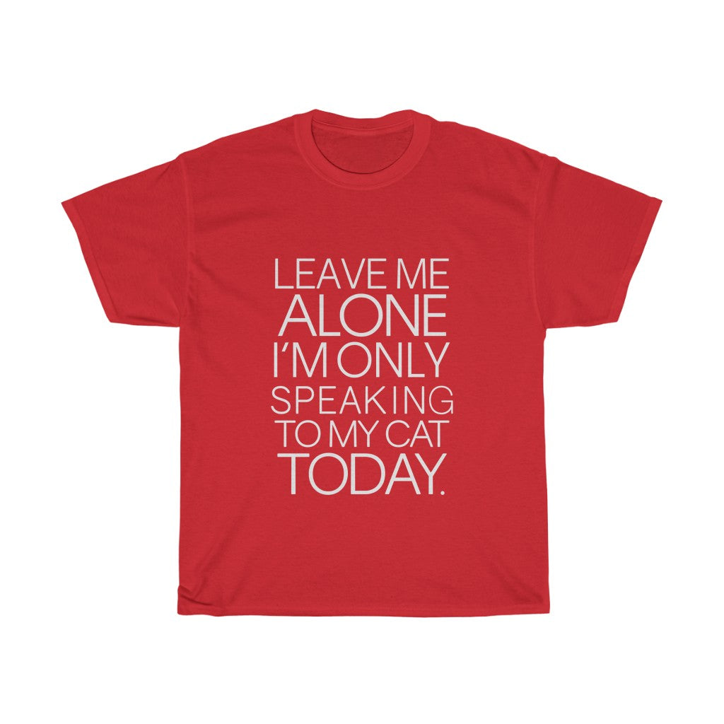 Leave me alone - Unisex Heavy Cotton Tee - Fulfilled in Australia