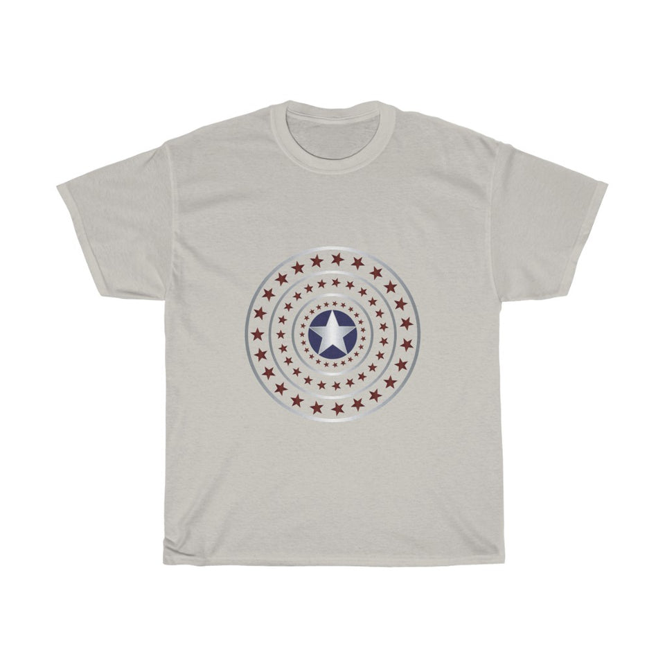 4th July stars – Unisex Heavy Cotton Tee - US