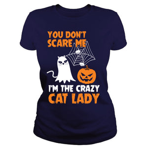 Halloween Crazy cat lady
