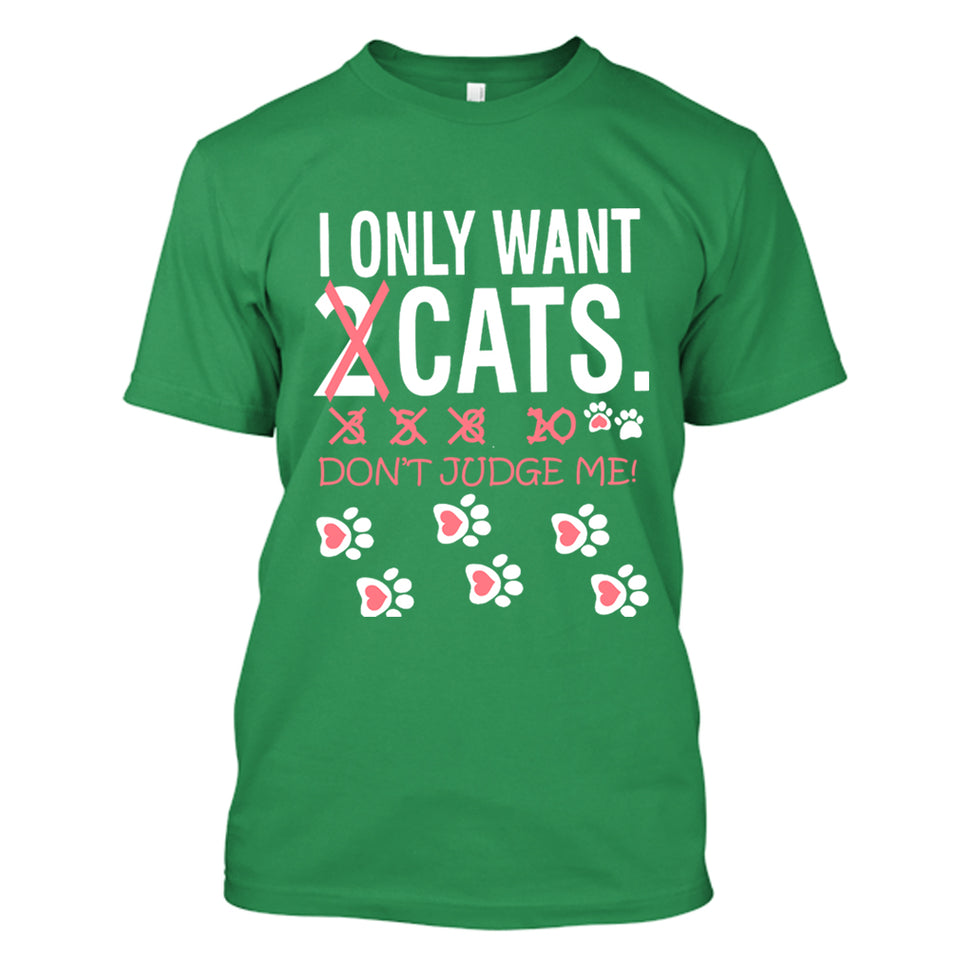 I Only Want Cats