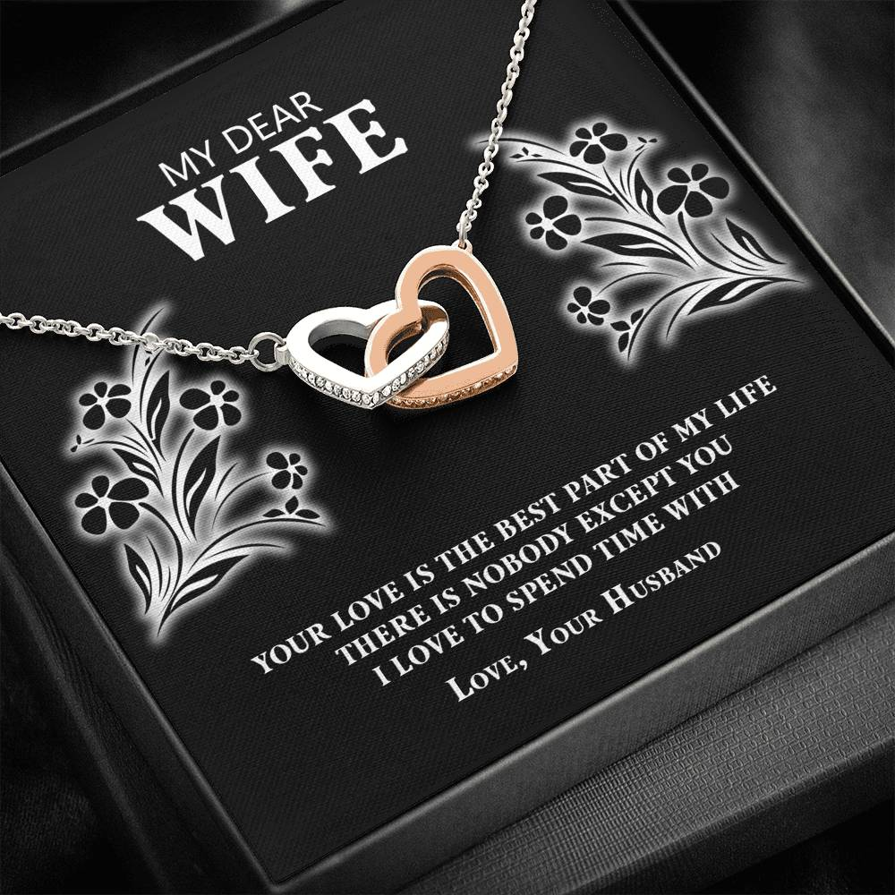 My Dear Wife Necklace