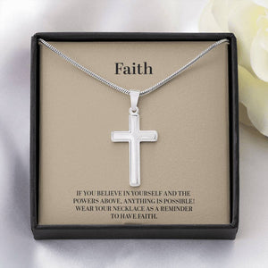 Faith Cross Necklace