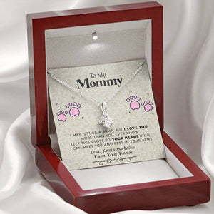 To My Mommy Necklace