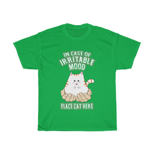 Place Cat Here - Unisex Heavy Cotton Tee - Fulfilled in Australia