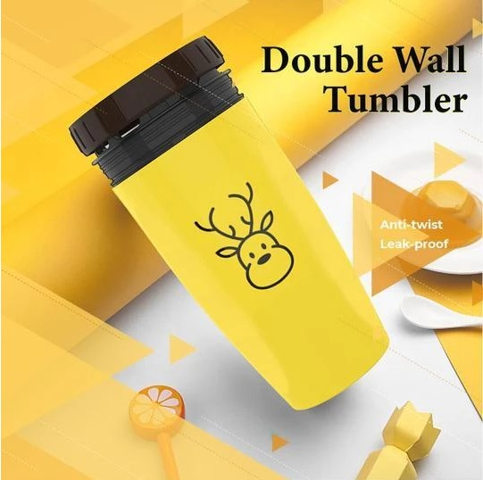Coverless Twist Cup Tumbler