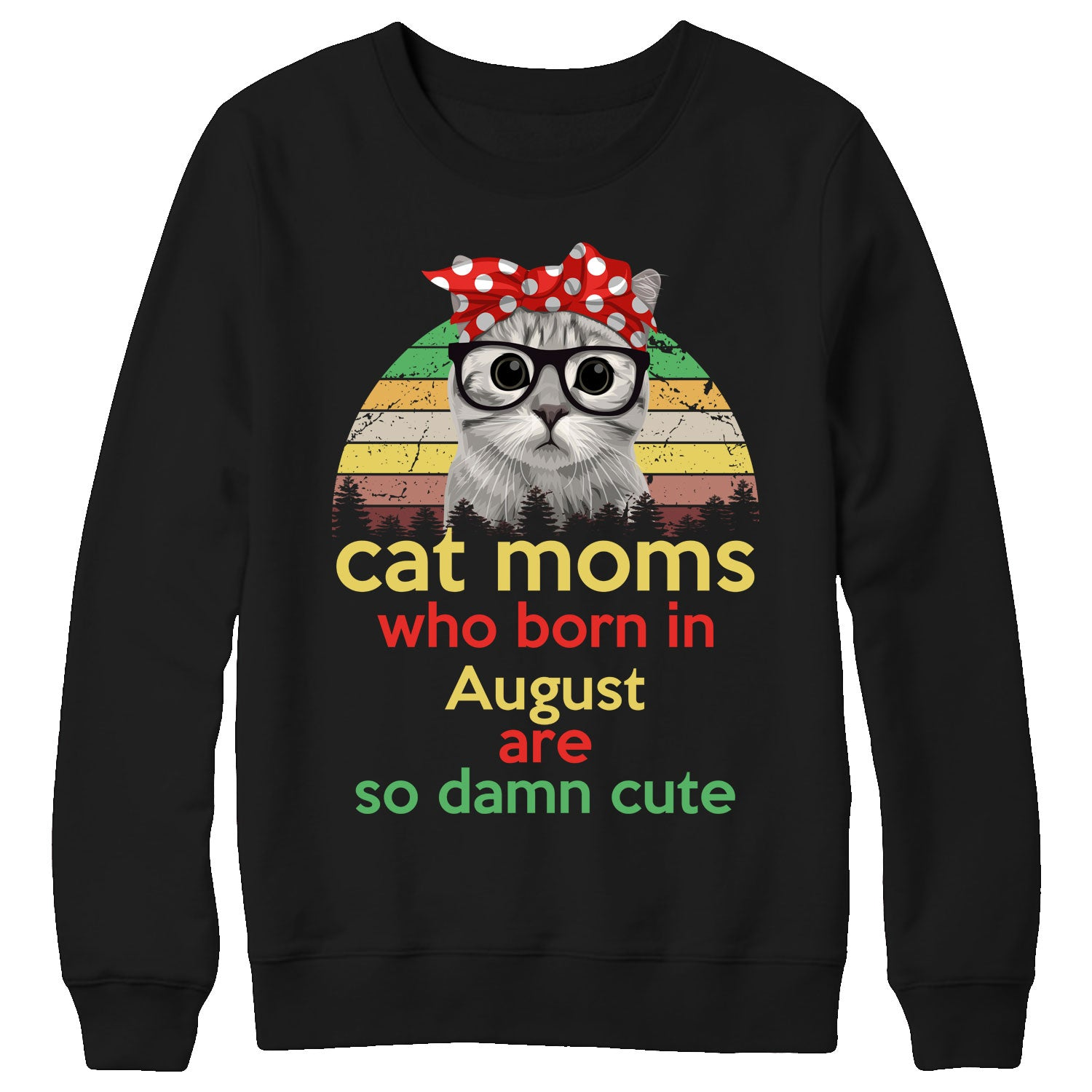 Cat moms who born in August