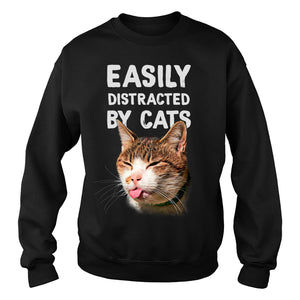 Easily distracted by cats