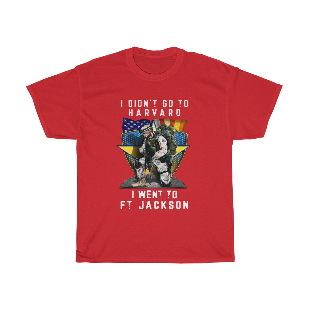 I didn't go to – Unisex Heavy Cotton Tee - US