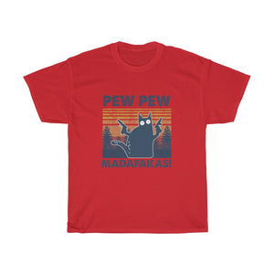 Pew pew - Unisex Heavy Cotton Tee - Fulfilled in the United States
