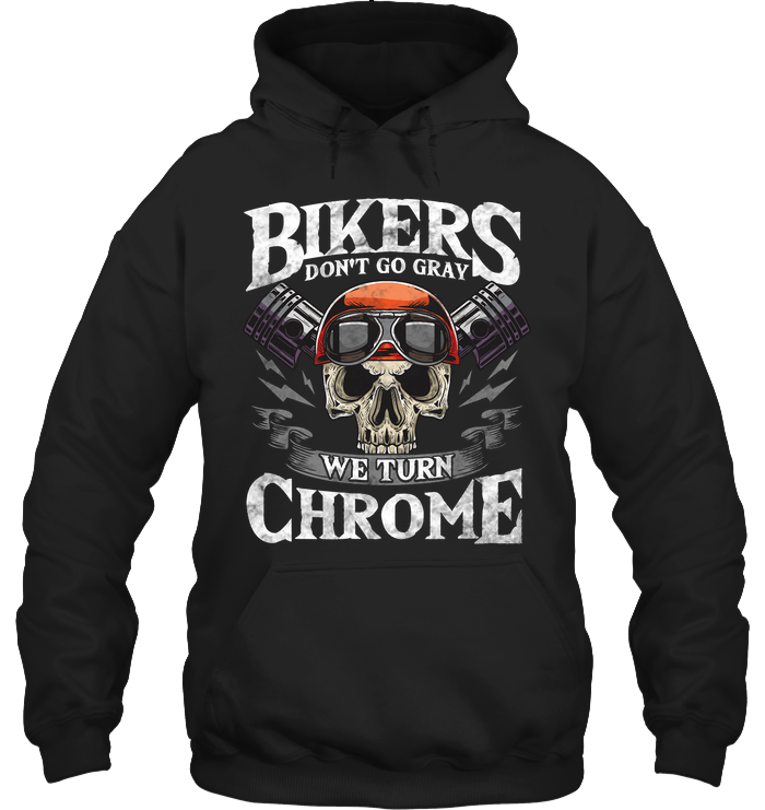 Bikers don't go gray - Fulfilled in the United States