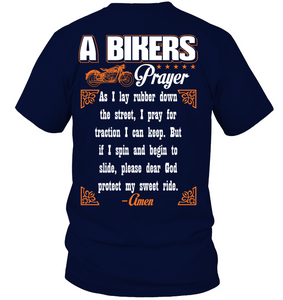 Bikers Prayer - Fulfilled in the United States