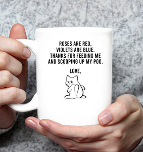 Hilarious mug - custom cat name - Fulfilled in the United States